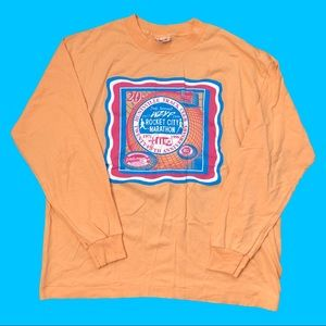 1996 Rocket City Marathon T-Shirt Pastel